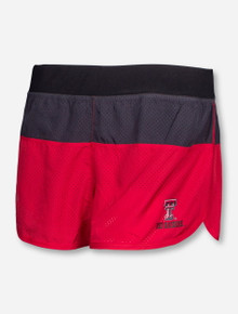 Arena Texas Tech Triple Threat Red Compression Shorts