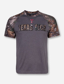Arena Texas Tech RealTree Switch Camo and Charcoal T-Shirt