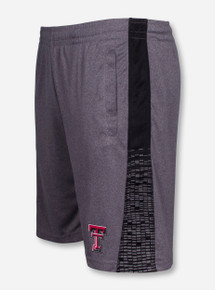 Arena Texas Tech Fire Break Reflective Charcoal and Black Shorts