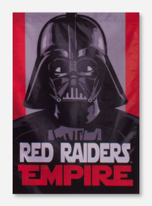 Texas Tech 2 Sided Star Wars Vertical Flag