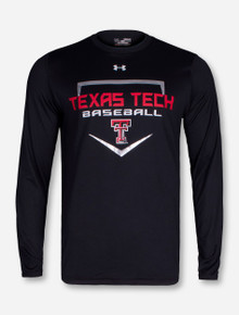 Under Armour Texas Tech 2016 Home Plate Black Long Sleeve Shirt