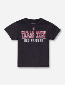 Arena Bold Texas Tech on YOUTH Charcoal T-Shirt