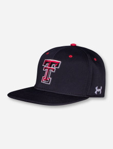 Under Armour Texas Tech 2016 On The Field Stretch Fit Cap