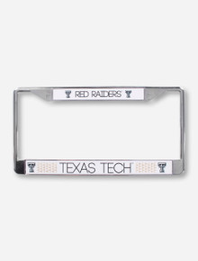 Texas Tech Gold Triangle License Plate Frame