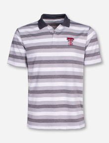 "Columbia Texas Tech ""Heather Stripe"" Striped Polo"
