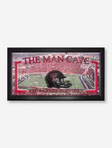 Texas Tech Football Man Cave Frame