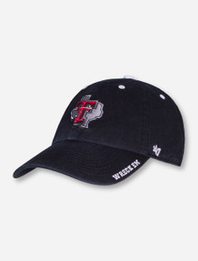 "47 Brand Texas Tech ""Ice"" Lone Star Pride on Adjustable Cap"