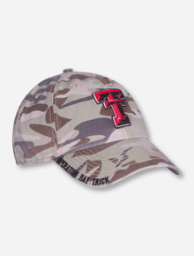 "47 Brand Texas Tech ""Operation Hat Trick Granato"" Camo Adjustable Cap"