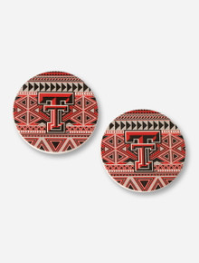Texas Tech Aztec Absorbent Coaster Set