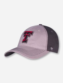 "47 Brand Texas Tech ""Umbra"" on Grey and Charcoal Stretch Fit Cap"