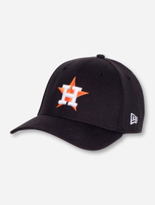 New Era MLB Houston Astros and Texas Tech on Black Stretch Fit Cap