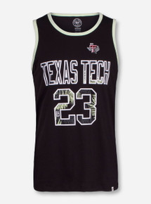 47 Brand Texas Tech North Shore Black Tank Top