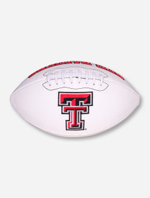 Texas Tech Red Raiders Autograph Football