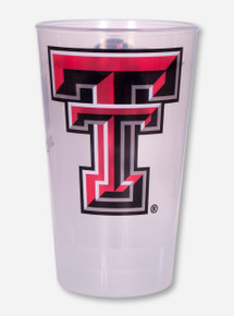 Texas Tech Double T and Masked Rider Plastic Cup
