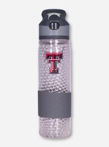 Texas Tech Double T on Bubble Water Bottle