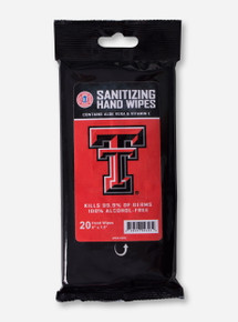 Texas Tech Red Raiders Santitizing Hand Wipes