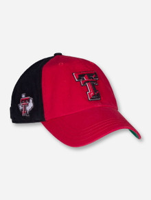 "47 Brand Texas Tech ""Flag Staff"" Adjustable Red and Black Cap"