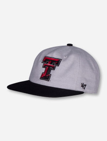 "47 Brand Texas Tech ""Lake View"" Snapback Cap"