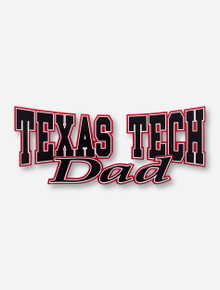 Texas Tech Atomic Dad Decal