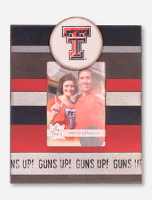 Texas Tech Guns Up Vintage Photo Frame