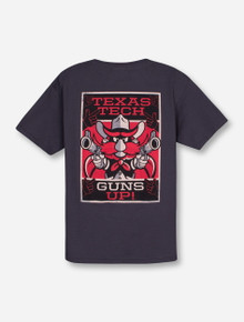 Texas Tech ESPN on YOUTH Charcoal T-Shirt