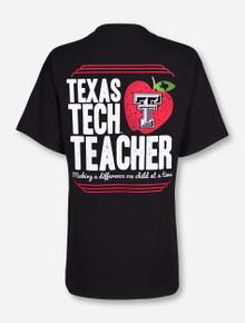 Texas Tech Teacher on Black T-Shirt