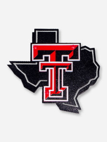Texas Tech Lone Star Pride Metal Works Hitch Cover
