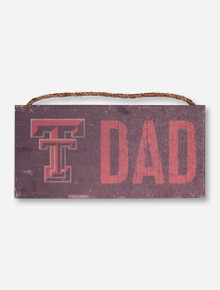 Texas Tech Dad Wood Sign
