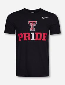 Nike Texas Tech #1 Pride on Black T-Shirt