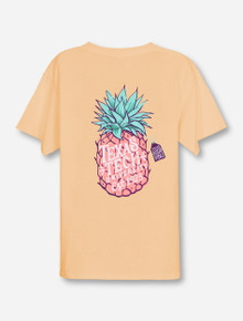 Texas Tech Pineapple Vibes on YOUTH Butter T-Shirt
