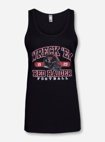 Texas Tech #TheJones Black Tank Top