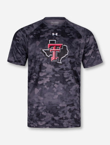 "Under Armour Texas Tech ""Paint"" Lone Star Pride Camo T-Shirt"