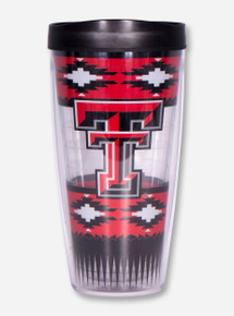 Texas Tech Aztec Double T Travel Tumbler