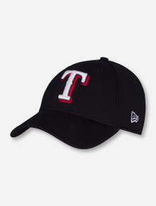 New Era MLB Texas Rangers and Texas Tech Lone Star Pride on Black Stretch Fit Cap