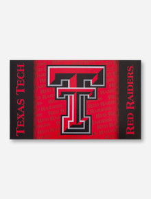 Double T & Texas Tech Red Raiders Red & Black 3' x 5' Flag
