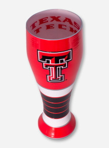 Texas Tech All-Over Hand Painted Double T Pilsner Glass