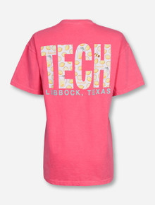 Lubbock, TX TECH in Lemonade on Watermelon T-Shirt