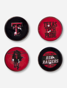 Texas Tech Pride 4 Assorted Fridge Magnets