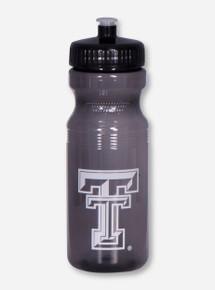 Texas Tech Double T Translucent Charcoal Squeeze Bottle