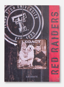 Texas Tech University Red Raiders Vintage Stamp Picture Frame