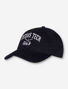 Legacy Texas Tech Golf Black Adjustable Cap