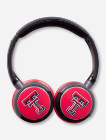 Texas Tech Double T Sonic Boom 2 Headphones
