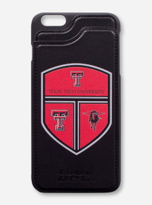 "Guard Dog Texas Tech Crest ""Alpha"" Wallet Black Cell Phone Case"