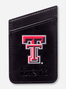 Guard Dog Texas Tech Double T Credit Card Wallet (Attaches to Cell Phone)