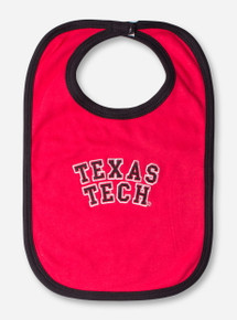 Texas Tech Block Red and Black Bib
