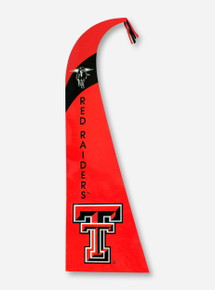 "Red Raiders Feather Red 44"" Flag"
