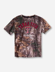 "Arena Texas Tech ""Blacktail"" TODDLER RealTree Camo T-Shirt"