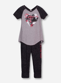 "Arena Texas Tech ""Watercolor"" YOUTH Tunic and Capri Set"