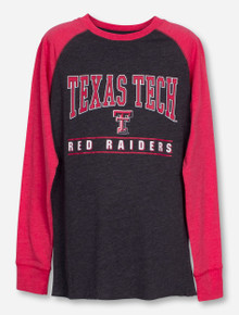"Arena Texas Tech ""Kryton"" YOUTH Grey and Red Longsleeve Shirt"