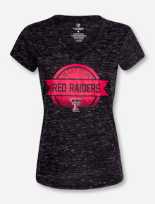 "Arena Texas Tech ""Double Play"" Women's V Neck T-Shirt"